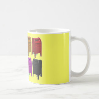 Mailbox POPART Gifts for Postal Workers Coffee Mug