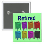 Mailbox POPART Gifts for Postal Workers Pins