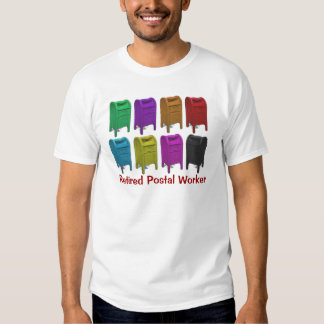 Mailbox POPART Gifts for Postal Workers T Shirts