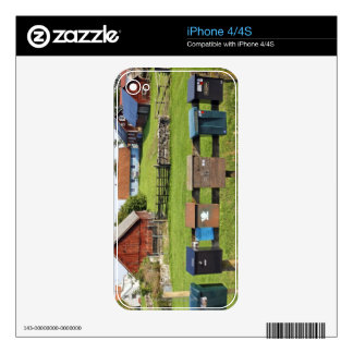 Mailboxes and Houses Decals For The iPhone 4S