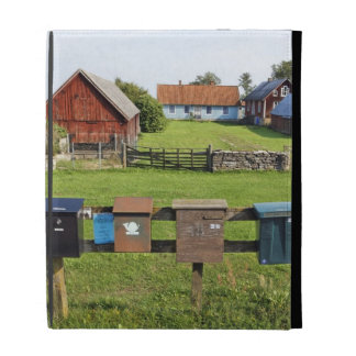 Mailboxes and Houses iPad Folio Case