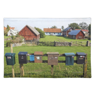 Mailboxes and Houses Placemats