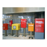 Mailboxes from Around the World Post Card