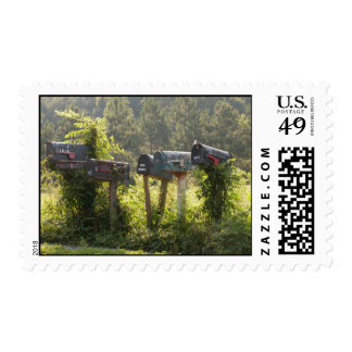 Mailboxes Postage Stamp