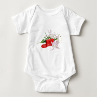 MailboxInLilies051409 Baby Bodysuit