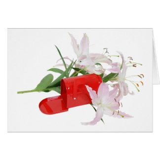 MailboxInLilies051409 Card