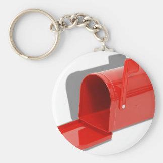 MailboxOpen051409shadows Basic Round Button Keychain