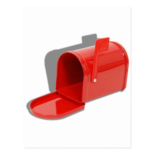 MailboxOpen051409shadows Post Card