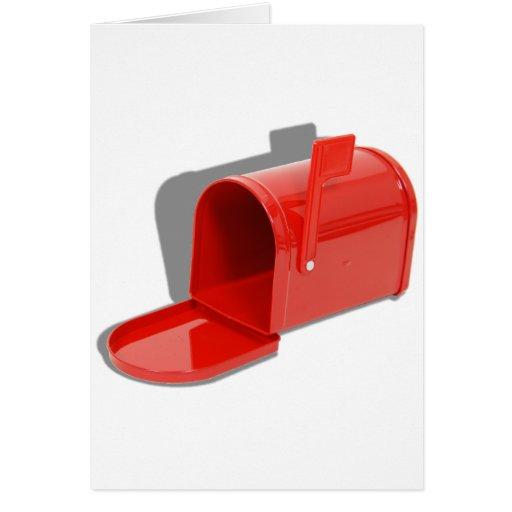 MailboxOpen051409shadows Tarjeta De Felicitación