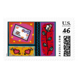 Mailed Love 4 Postage Stamp