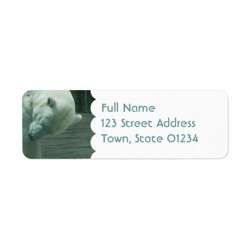 Mailing Label Template 1 - Customized