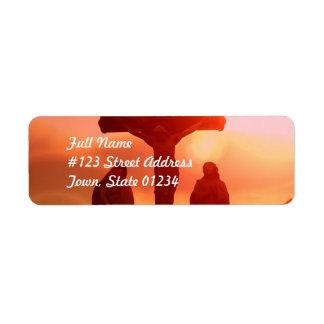 Mailing Label Template 2 - Customized Return Address Label