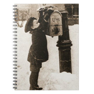 Mailing Letters 1880 Spiral Notebook