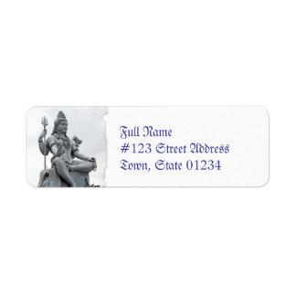 MailingLabel-3 - Modificado para requisitos partic Etiquetas De Remite