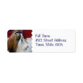 MailingLabel-4 - Customized Return Address Label