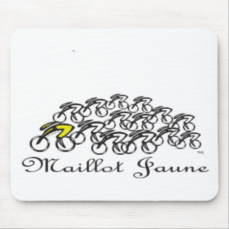 Maillot Jaune Mouse Pad