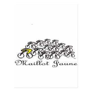 Maillot Jaune Post Card