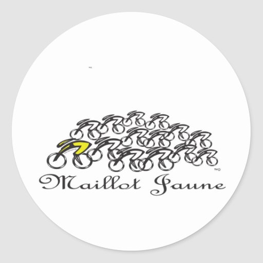 Maillot Jaune Sticker