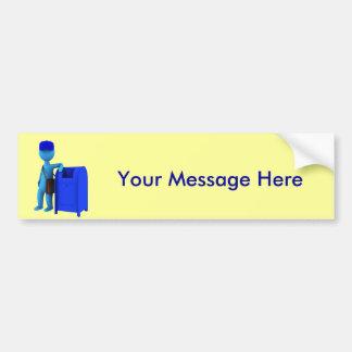 Mailman Bumper Sticker