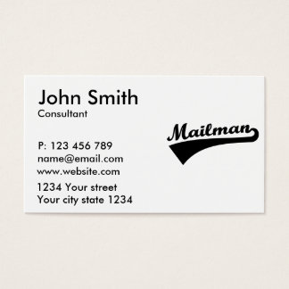 Mailman Business Card
