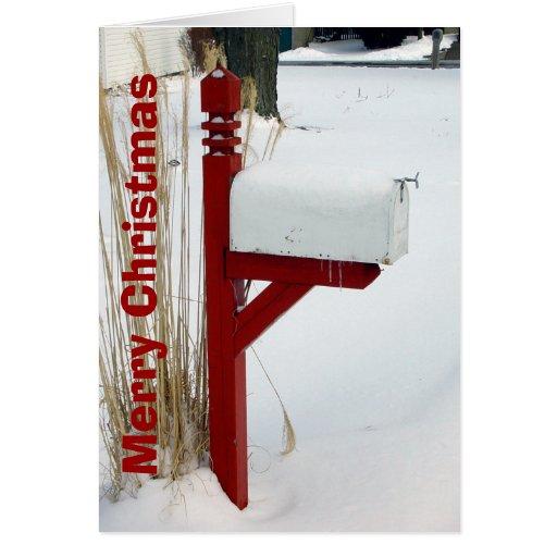 Mailman Christmas Card