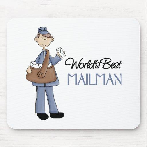 Mailman Gift Mousepad
