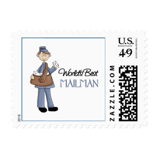 Mailman Gift Stamp