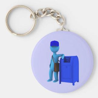 Mailman Keychain