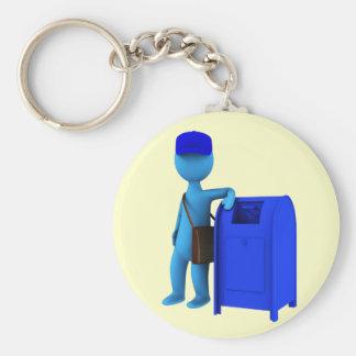 Mailman Key Chains