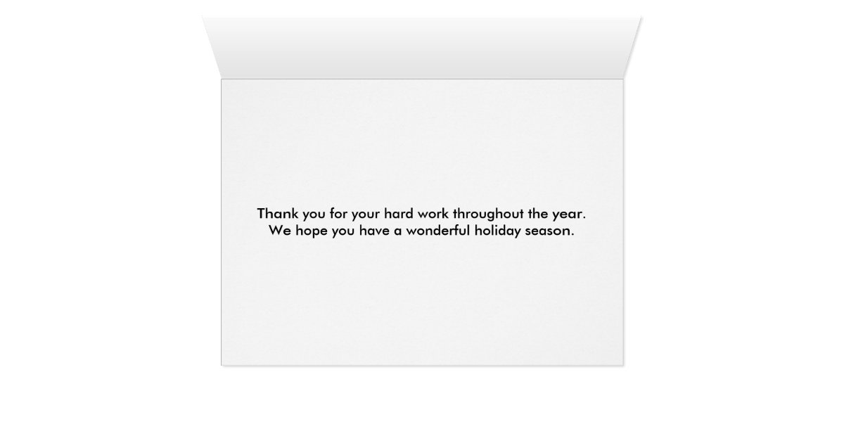 Mailman Mail Lady Christmas Holiday Thank You Card | Zazzle