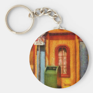 Mailman - No Parking Basic Round Button Keychain