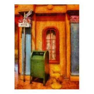 Mailman - No Parking Postcard