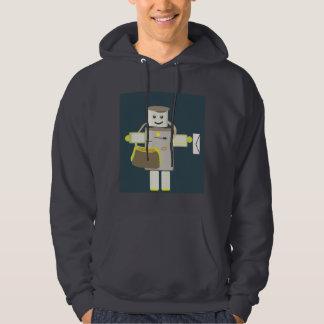 Mailman Robot Hoody