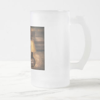 Mailman - The Mail Scale Frosted Glass Beer Mug