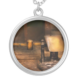 Mailman - The Mail Scale Round Pendant Necklace