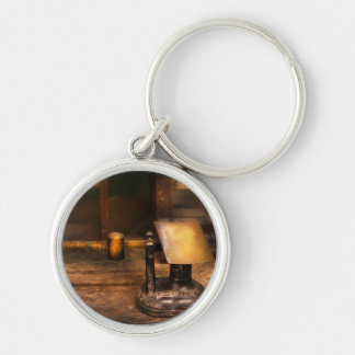 Mailman - The Mail Scale Silver-Colored Round Keychain