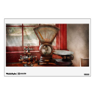 Mailman - The mail scale Wall Decal