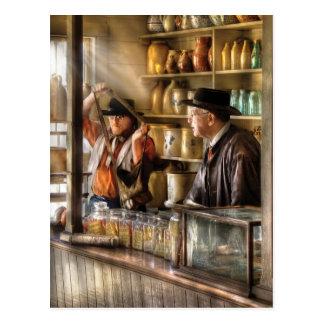Mailman - The Messenger Postcard
