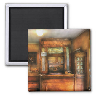 Mailman - The Post Office 2 Inch Square Magnet