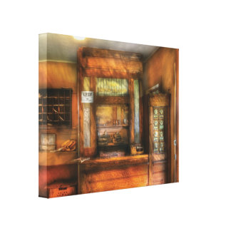 Mailman - The Post Office Canvas Print