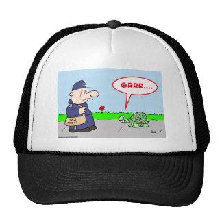 MAILMAN TURTLE GRRR TRUCKER HATS