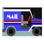 mailtruck postcard