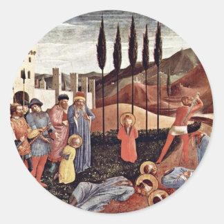 Main Altar Of St. Cosmas And Damian Sticker