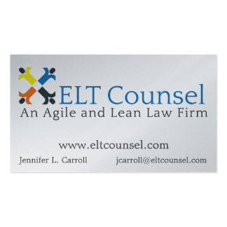 Main business card for ELT Counsel