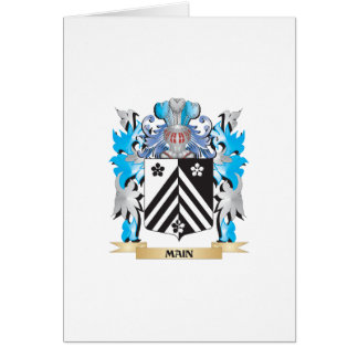 Main Coat of Arms - Family Crest Card
