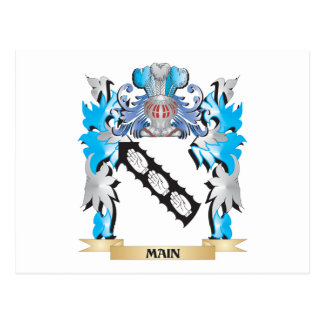 Main Coat of Arms - Family Crest Post Card