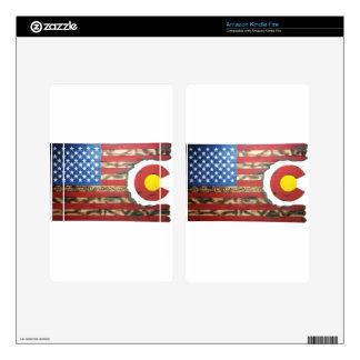 Main_Colorado_Veterans Skin For Kindle Fire