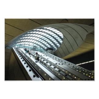 Main Entrance to Canary Wharf Station Photo Print