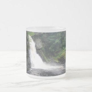 Main Falls 10 Oz Frosted Glass Coffee Mug