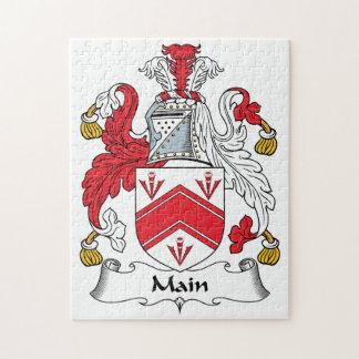 Main Family Crest Puzzle